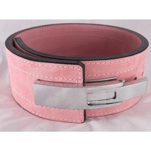 Inzer Lever Belt - Pink 2XL 10mm